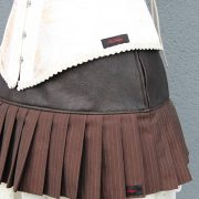 YourShape Short Steam Skirt Brown Needle 3