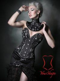 korsett-yourshape-vollbrust-satin-schwarz-silber