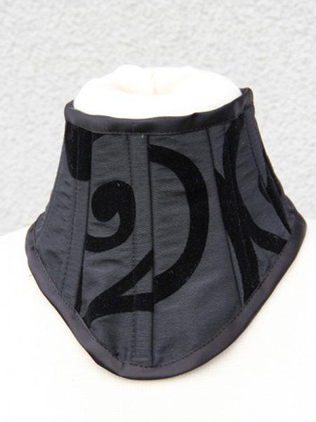 halskorsett-yourshape-taft schwarz-ornamente