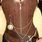 korsett-yourshape-vollbrust-steampunk-braun-paisley-1
